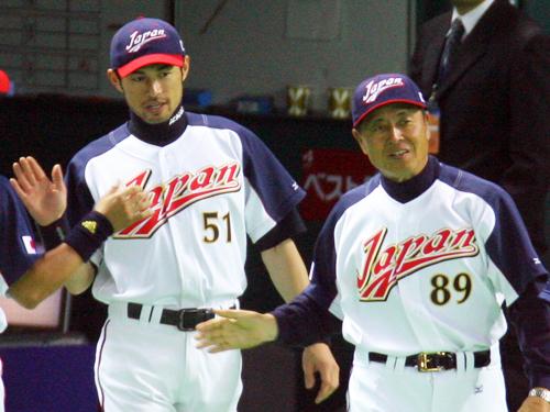 2006年WBCでの王日本代表監督(右)とイチロー ― スポニチ ...