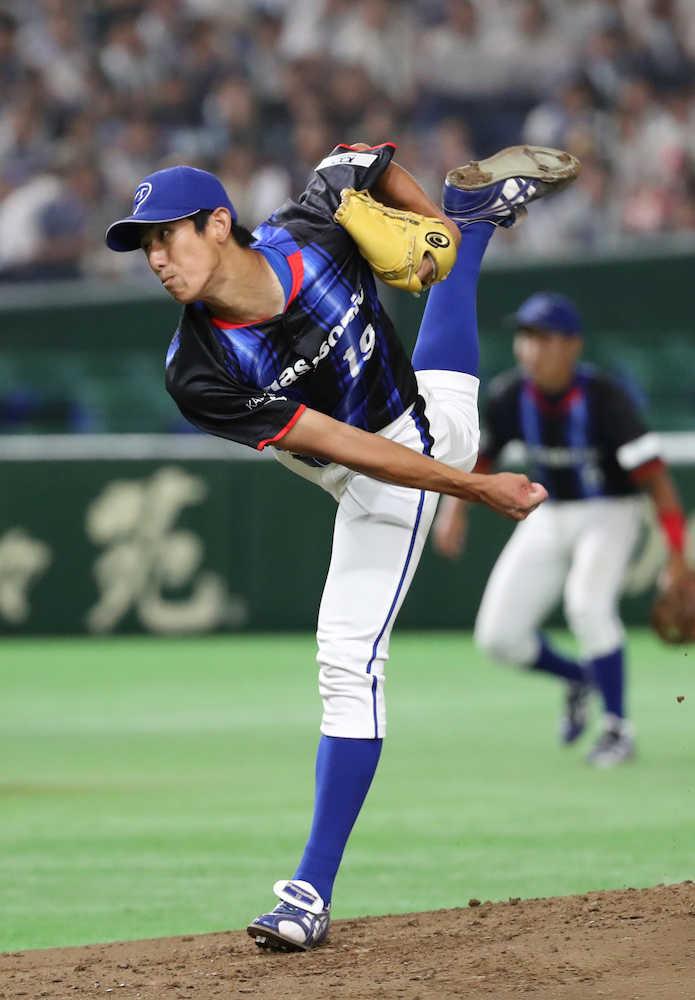 パナソニック・ルーキー吉川 14K完投「プロに行きたい」