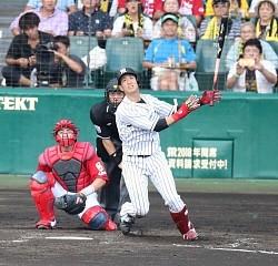 【野球】阪神中谷20号!生え抜き右打者では浜中以来の記録 .247 20本 56打点 1盗塁