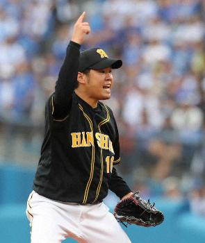 阪神、3年ぶり9度目3試合連続完...