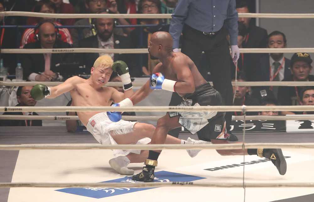 【格闘技】那須川天心、メイウェザー戦のしくじりTV初告白「イライラMAX。頭に血が上ってしまいました」