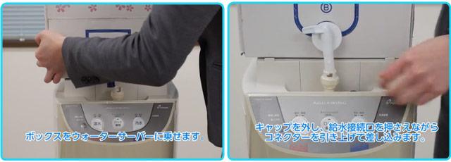 富士桜命水 お水の交換方法2