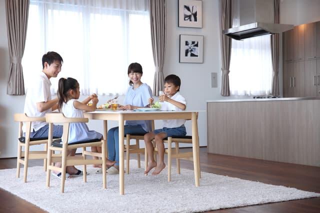 四人家族のコスト