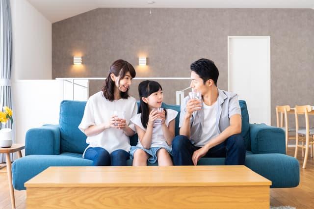 三人家族のコスト