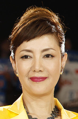 ファッションモデルの戸田恵子さん
