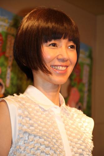 ファッションモデルの渡辺満里奈さん