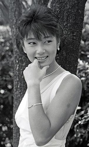 夏目雅子さんのポートレート