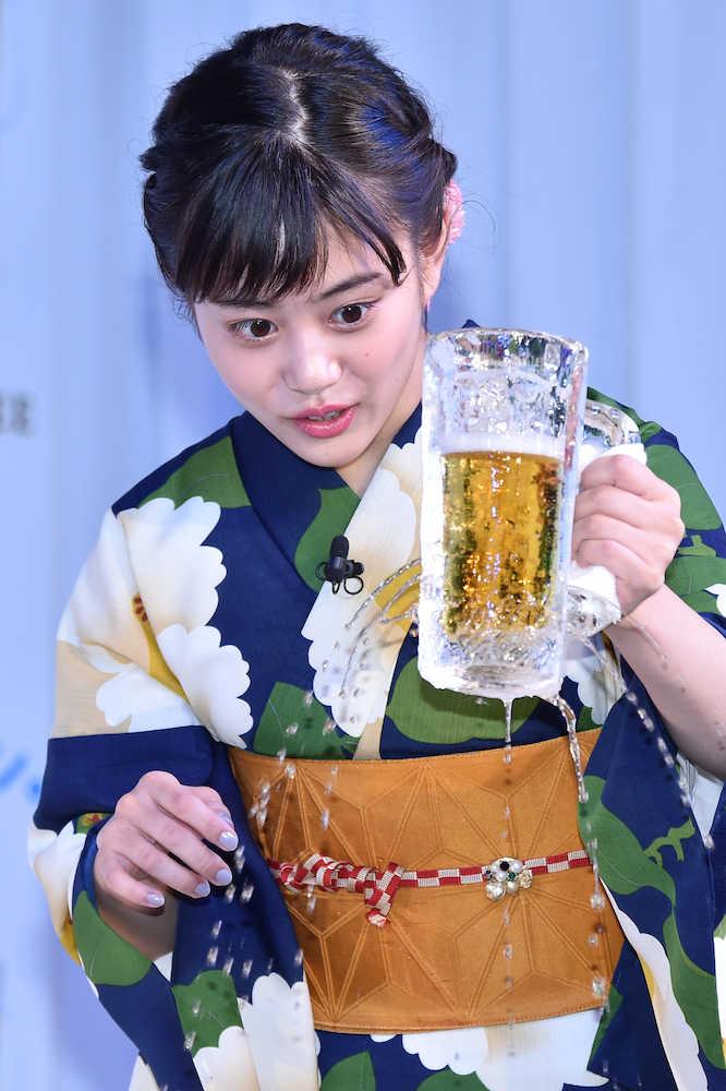 高畑充希 cm ビール