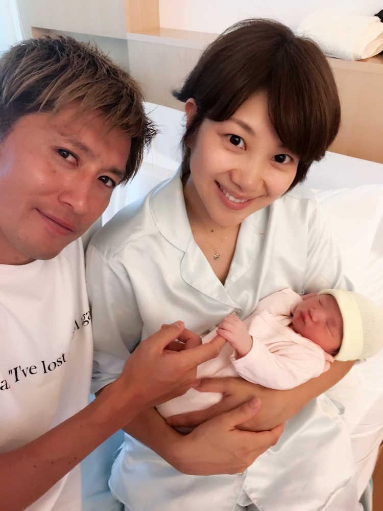 第2子出産の潮田玲子 ブログで喜...