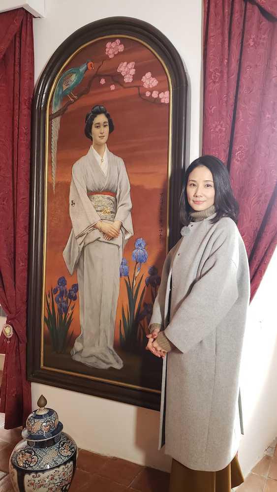 吉田羊 プラハ、ウィーンへ 欧州に嫁いだ日本人を追う\u2015 スポニチ