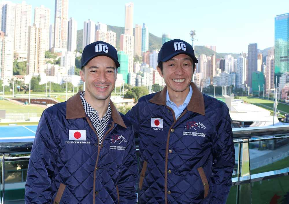 5日に香港国際騎手招待競走で日...
