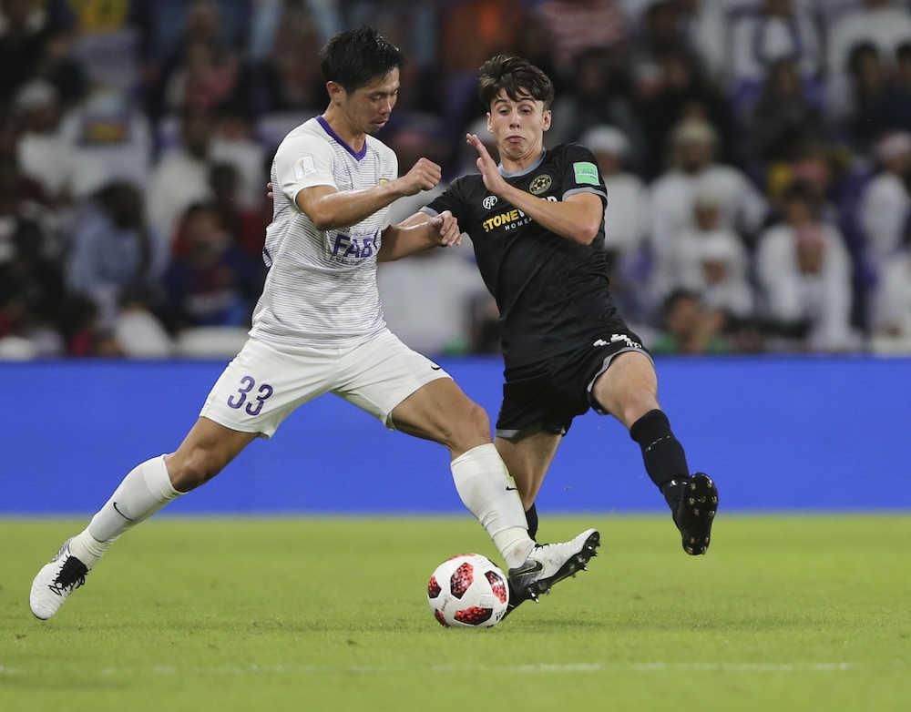 <FIFAクラブW杯開幕戦>アルアイン(UAE)が初戦突破!元日本代表・塩谷がゴール 0―3から追いつきPK戦制す