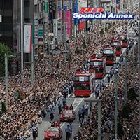 記者会見で愛知県知事のリコール運動を終了すると表明した ...