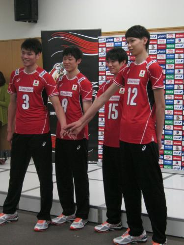 男子 日本 代表 メンバー バレー