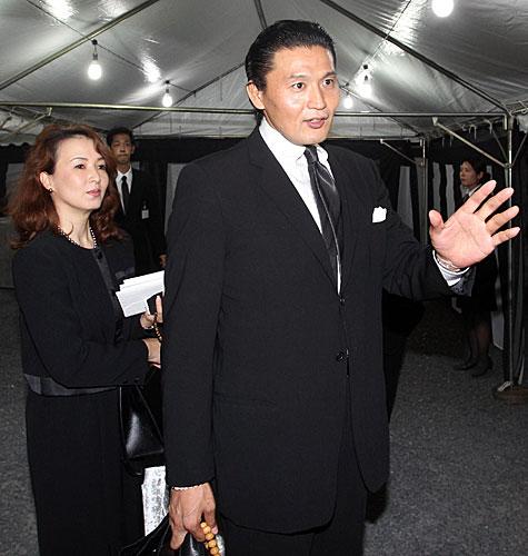 貴乃花親方・花田景子夫妻
